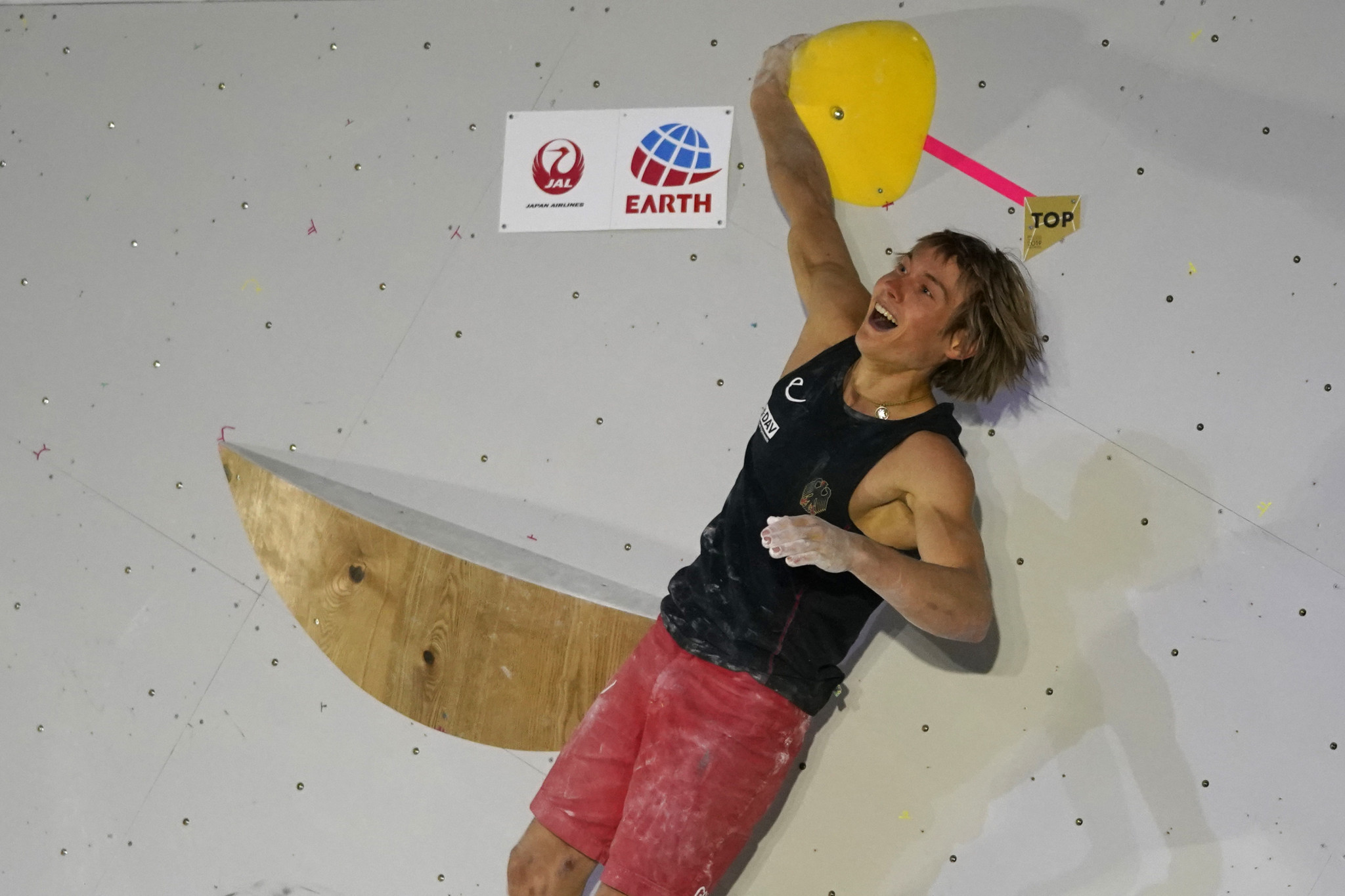 Megos tops men's combined qualification at IFSC World Championships