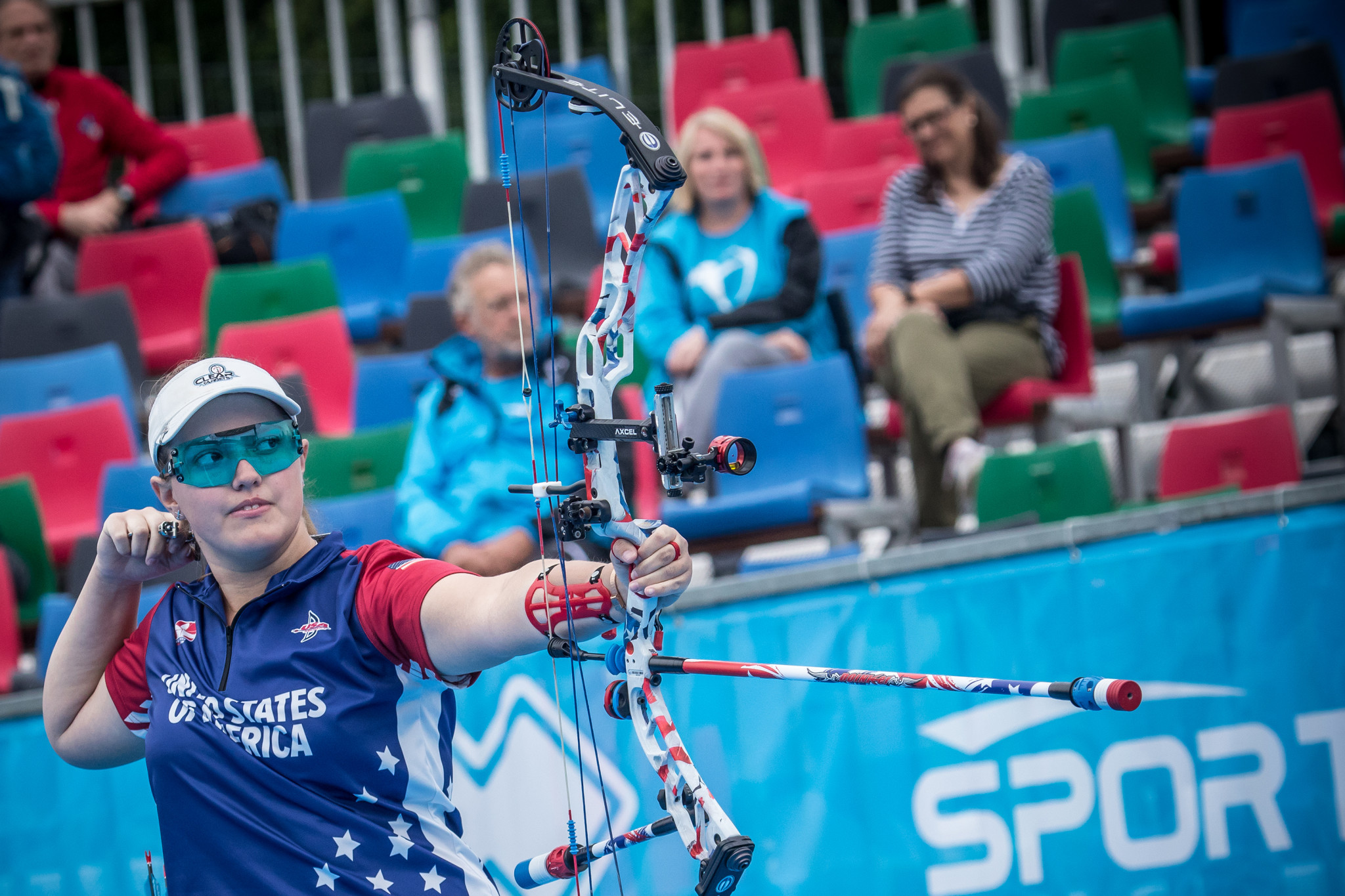 Paralympic champion and world number one shooter among competitors at World Archery Youth Championships