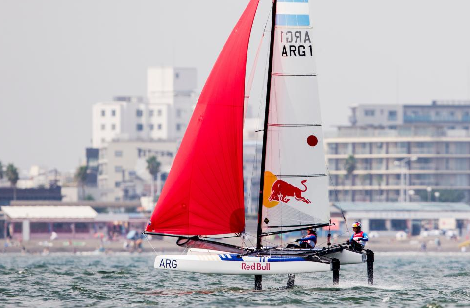 Contrasting conditions have been experienced by the competing sailors ©World Sailing