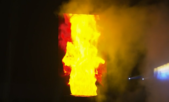 Opening Ceremony held for 2019 African Games with lighting of virtual flame before half-empty stadium in Rabat