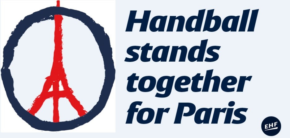 Handball to show solidarity with Paris at EHF Champions League matches