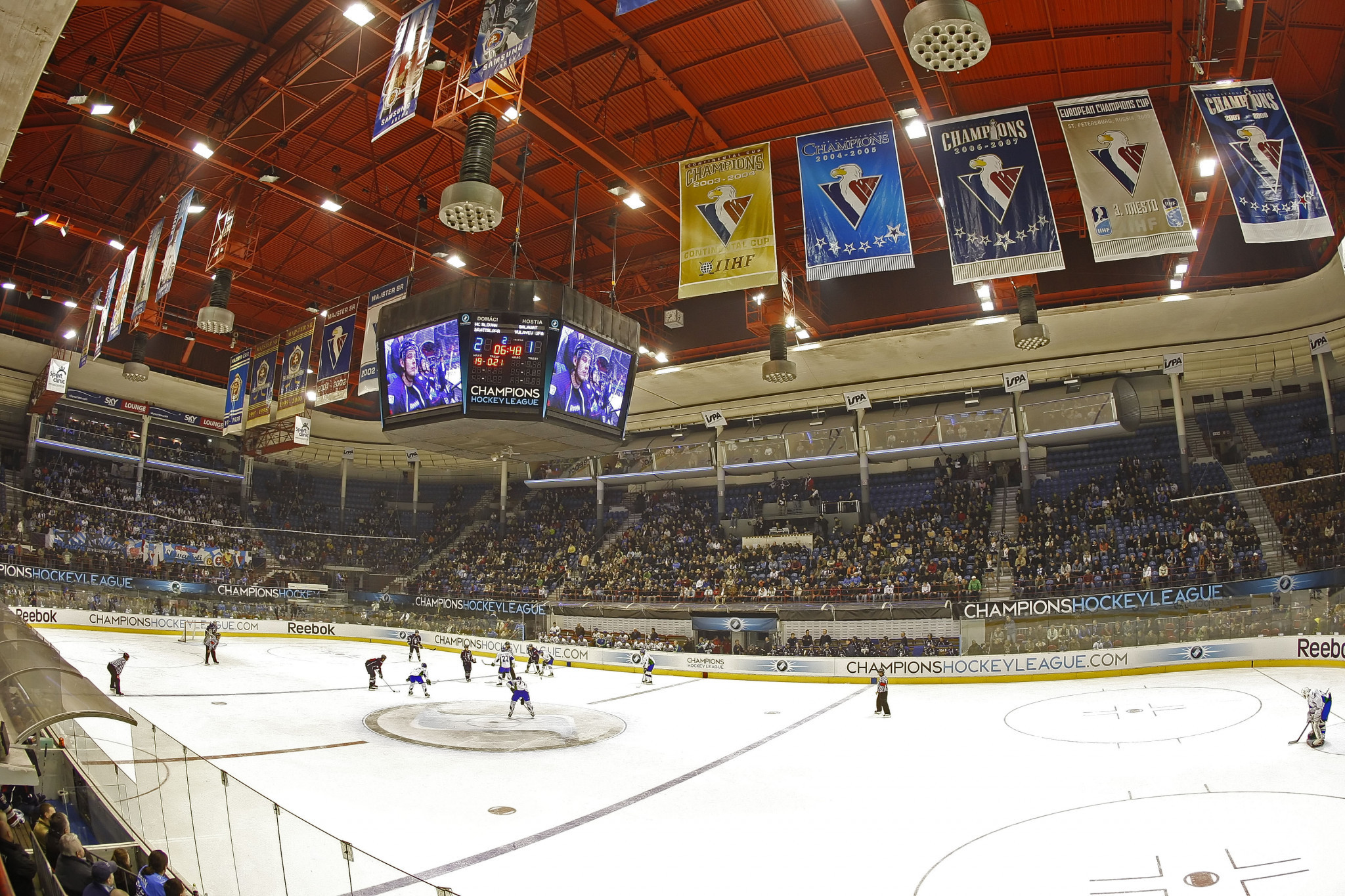 The club will continue to play in the Ondrej Nepela Arena ©Getty Images
