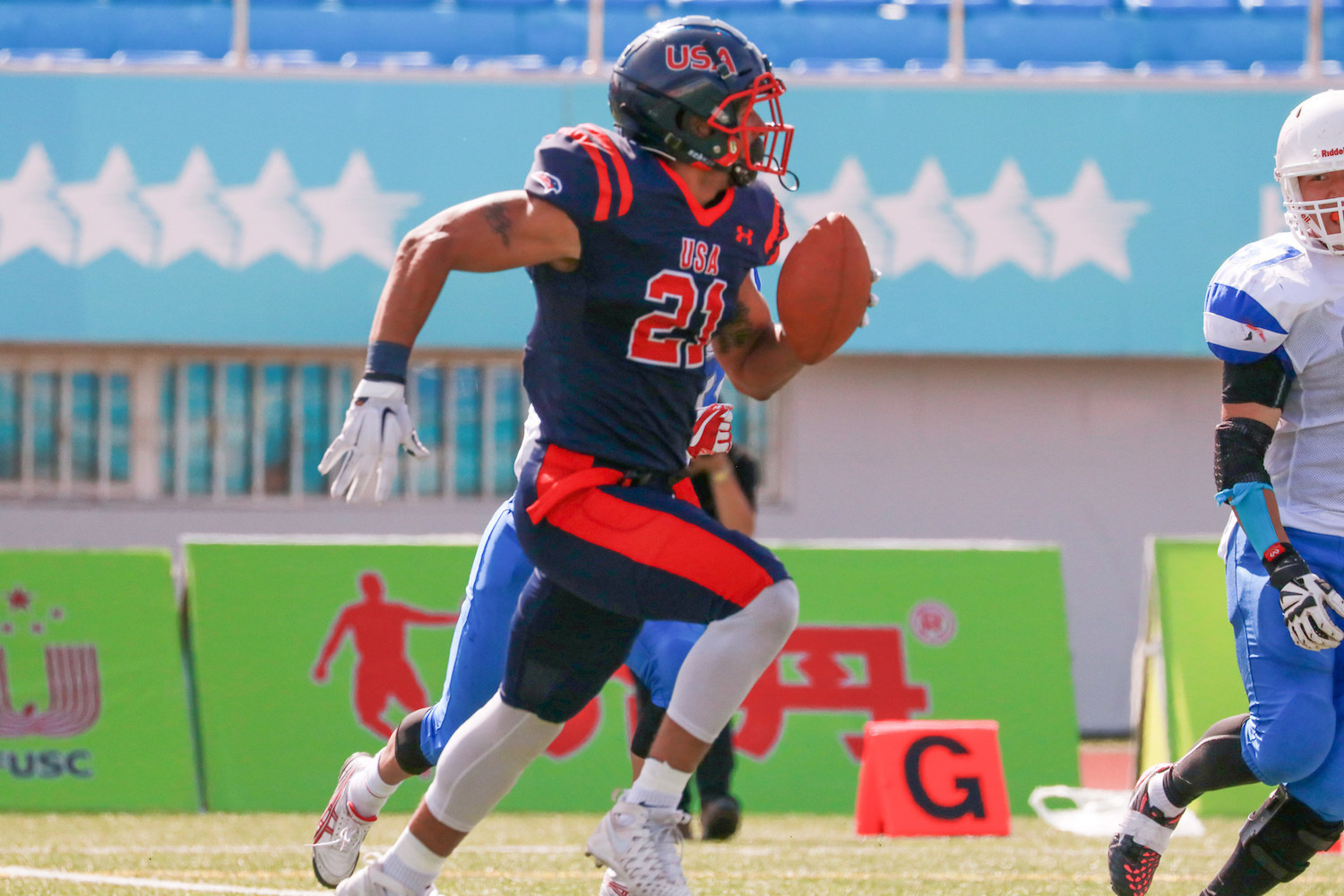 The American football competition will be held between university teams from the 2022 season onwards ©FISU