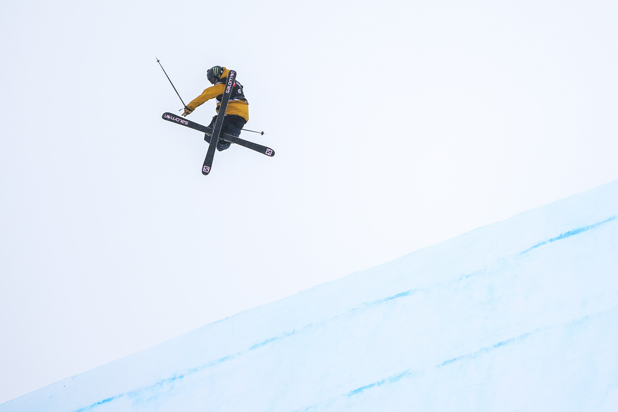 The ski squad is spearheaded by slopestyle world champion James Woods ©Getty Images