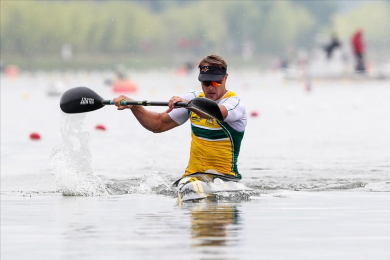 Curtis McGrath of Australia will be defending his KL2 and VL3 world titles in Szeged ©Paddle Australia