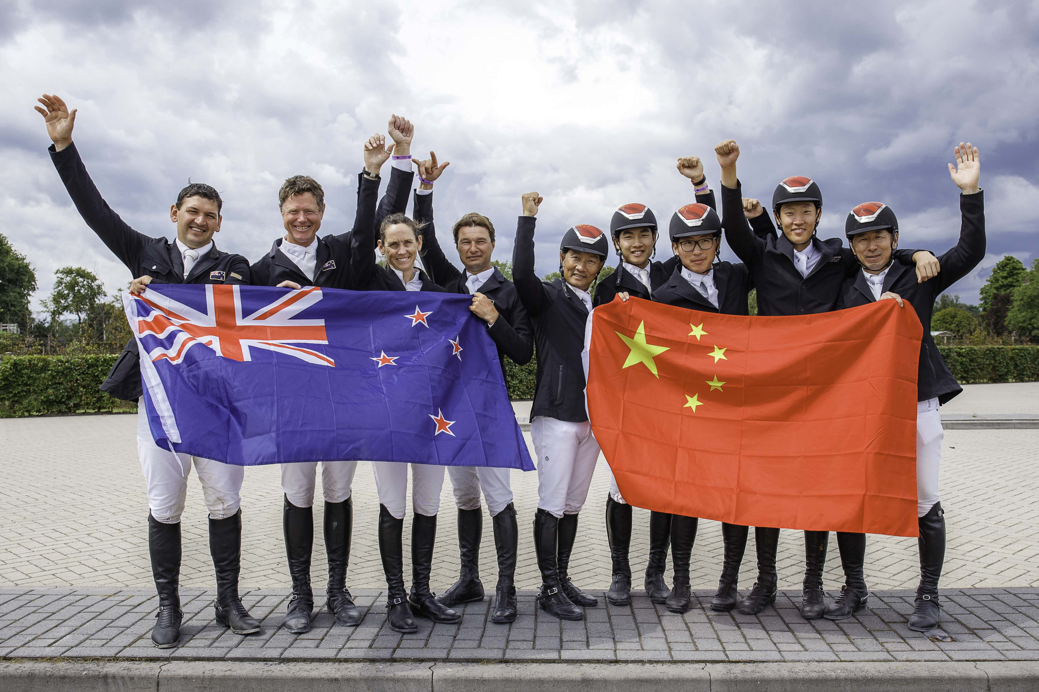 New Zealand and China earn Olympic team jumping spots in Valkenswaard