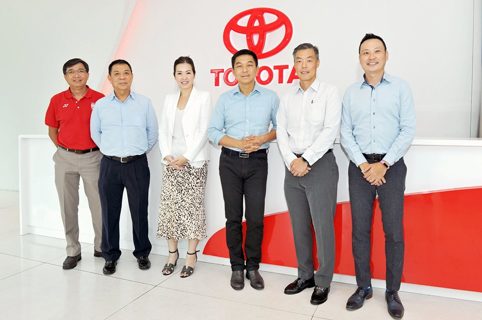 Singapore National Olympic Council sign deal with Borneo Motors