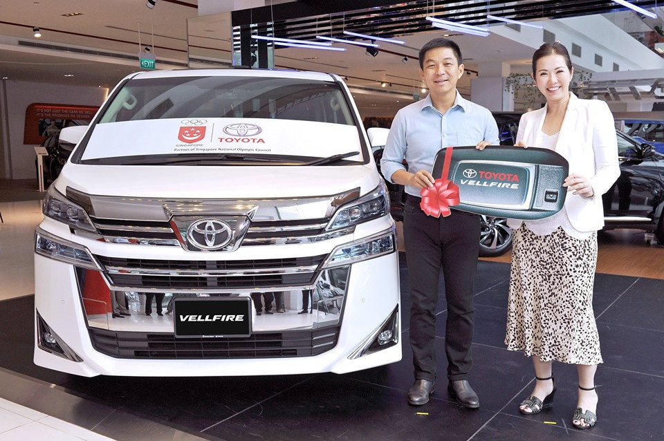 The SNOC received a Toyota Vellfire as part of the deal ©Facebook