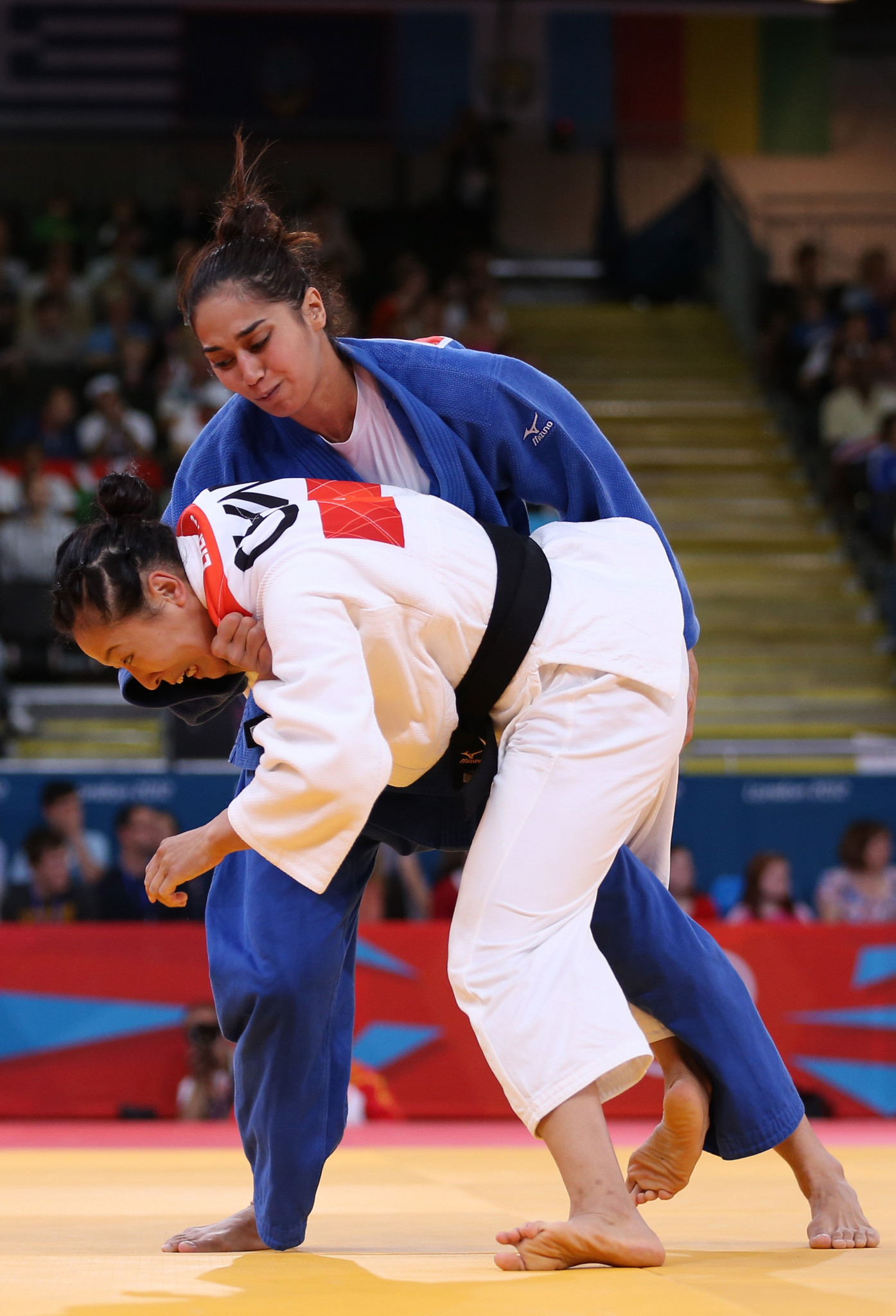 Jennifer Anson represented Palau at the London 2012 Olympic judo tournament ©Getty Images