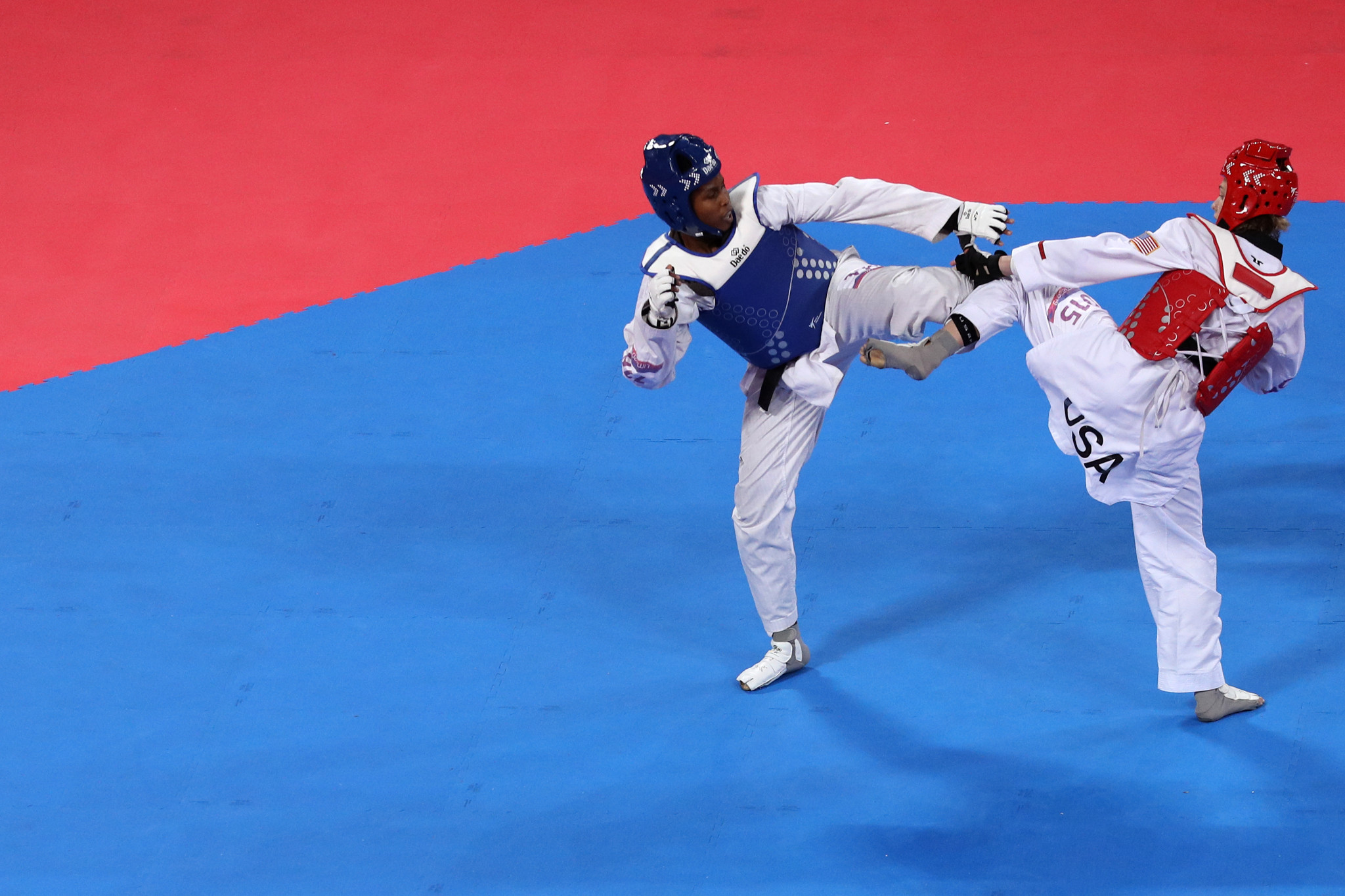 The camps offer young taekwondo players the chance to impress national coaches in the US ©Getty Images