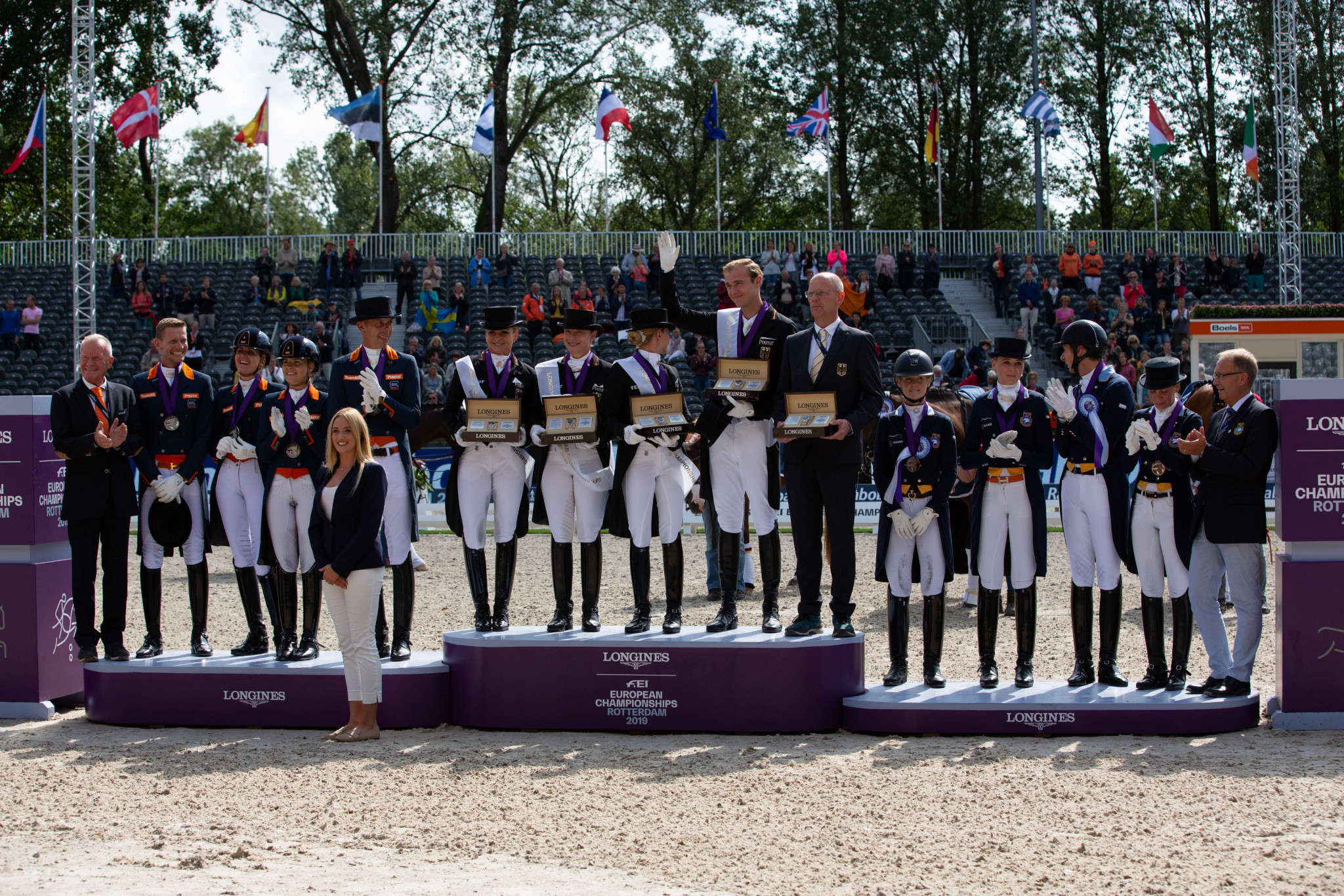 Germany clinch dressage gold at FEI European Championships
