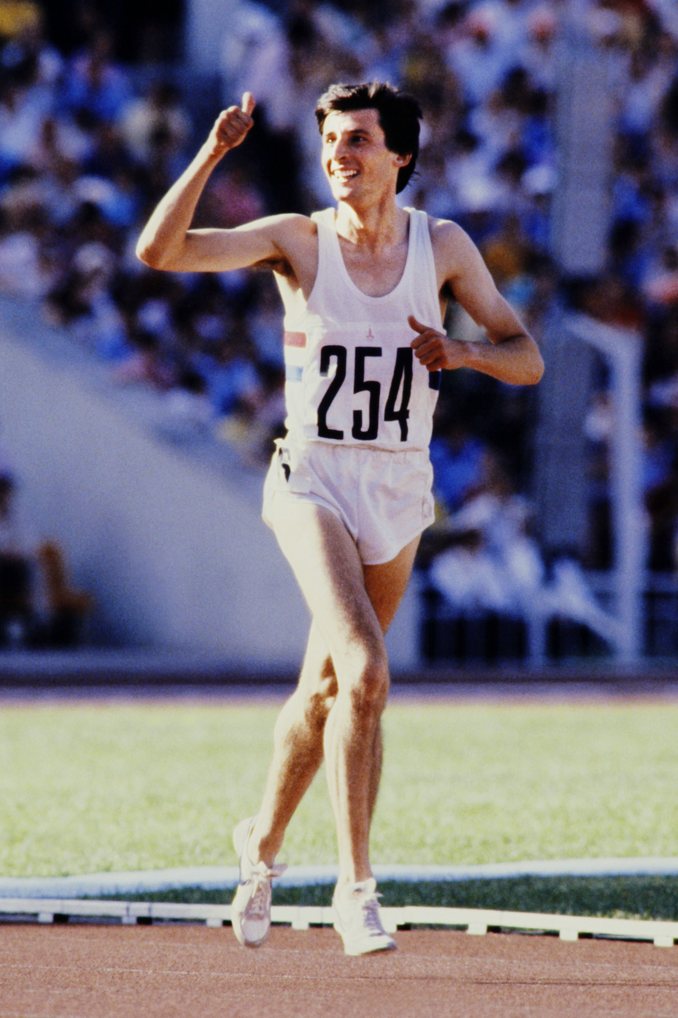 Sebastian Coe won gold over 1,500m at Moscow 1980 ©Getty Images