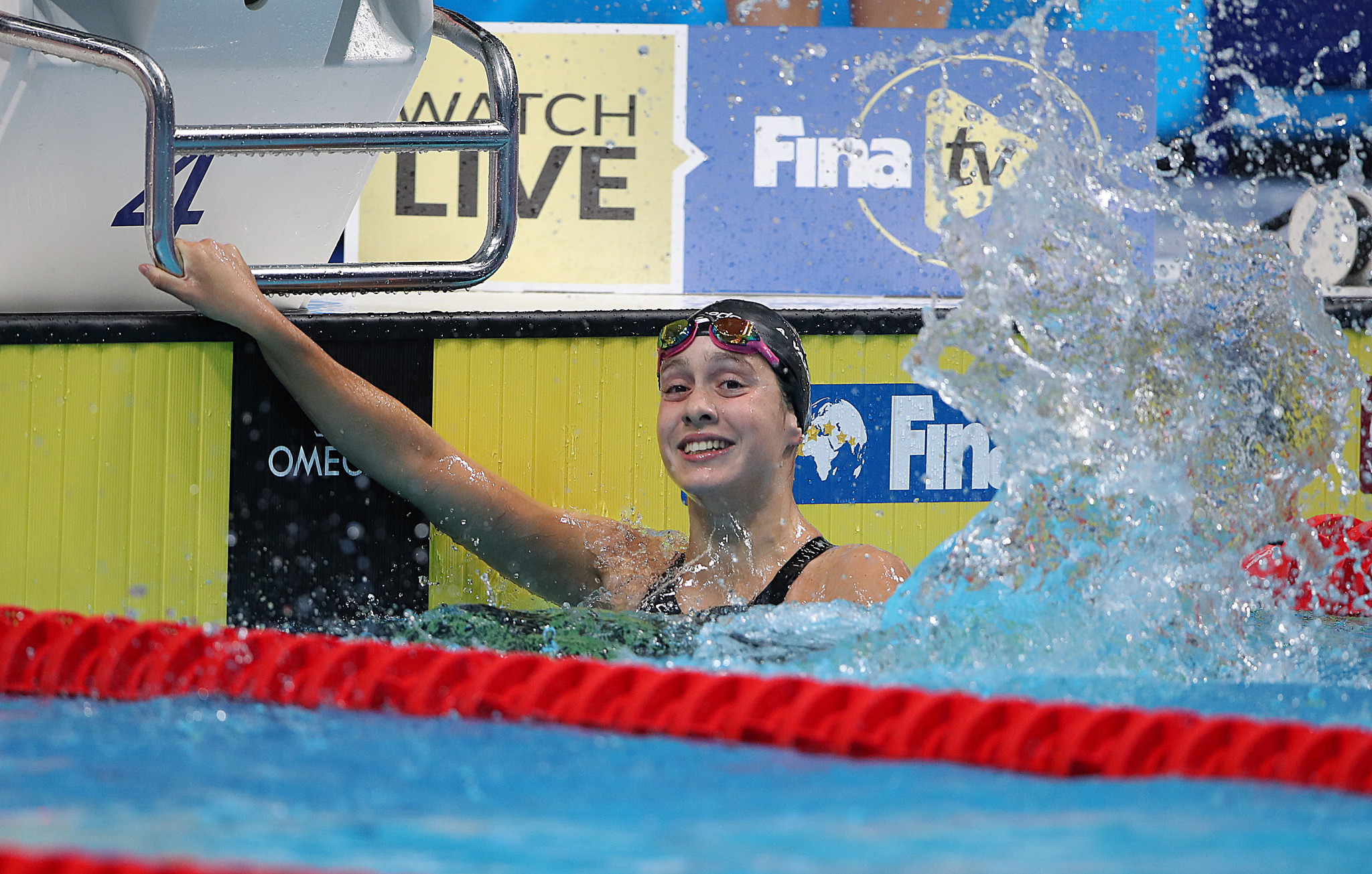 Spain's Alba Vazquez Ruiz broke the women's junior world record in the women's 400 metres medley as action begun today at the 2019 FINA World Junior Championships in Budapest ©Getty Images