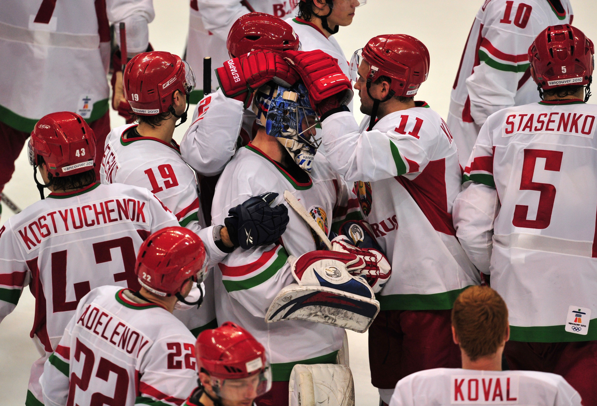 Mikhail Zakharov coached Belarus during the Vancouver 2010 Olympics ©Getty Images