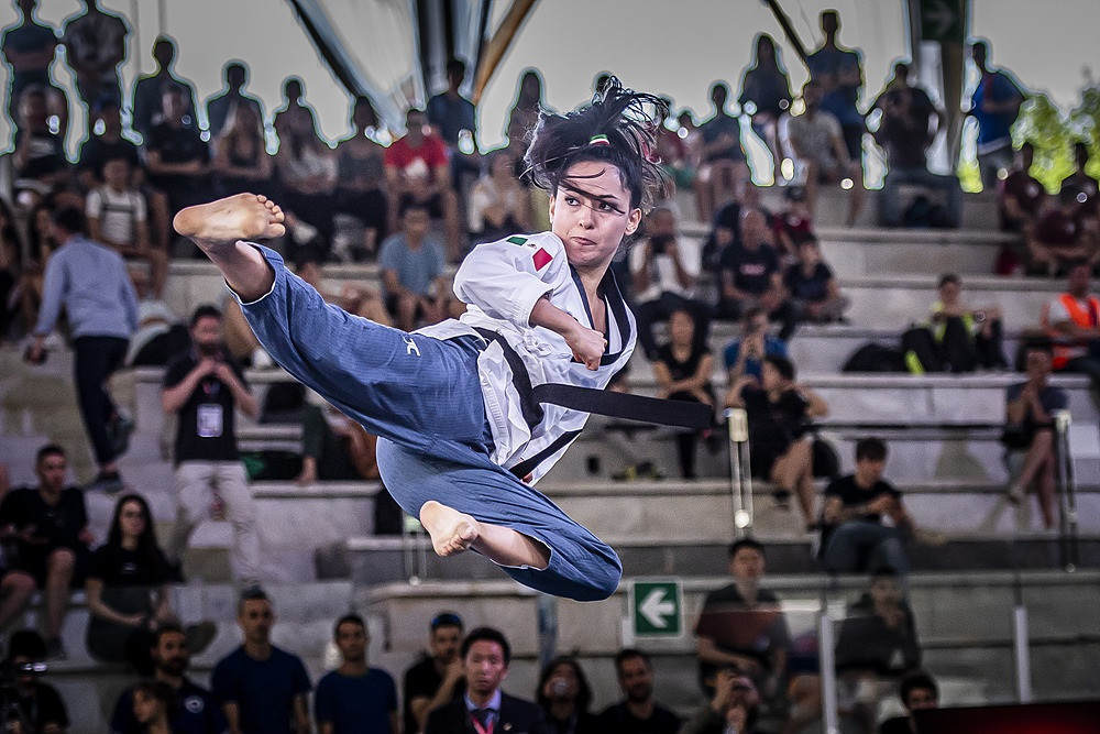 The World Taekwondo Poomsae Championships are underway in China ©World Taekwondo