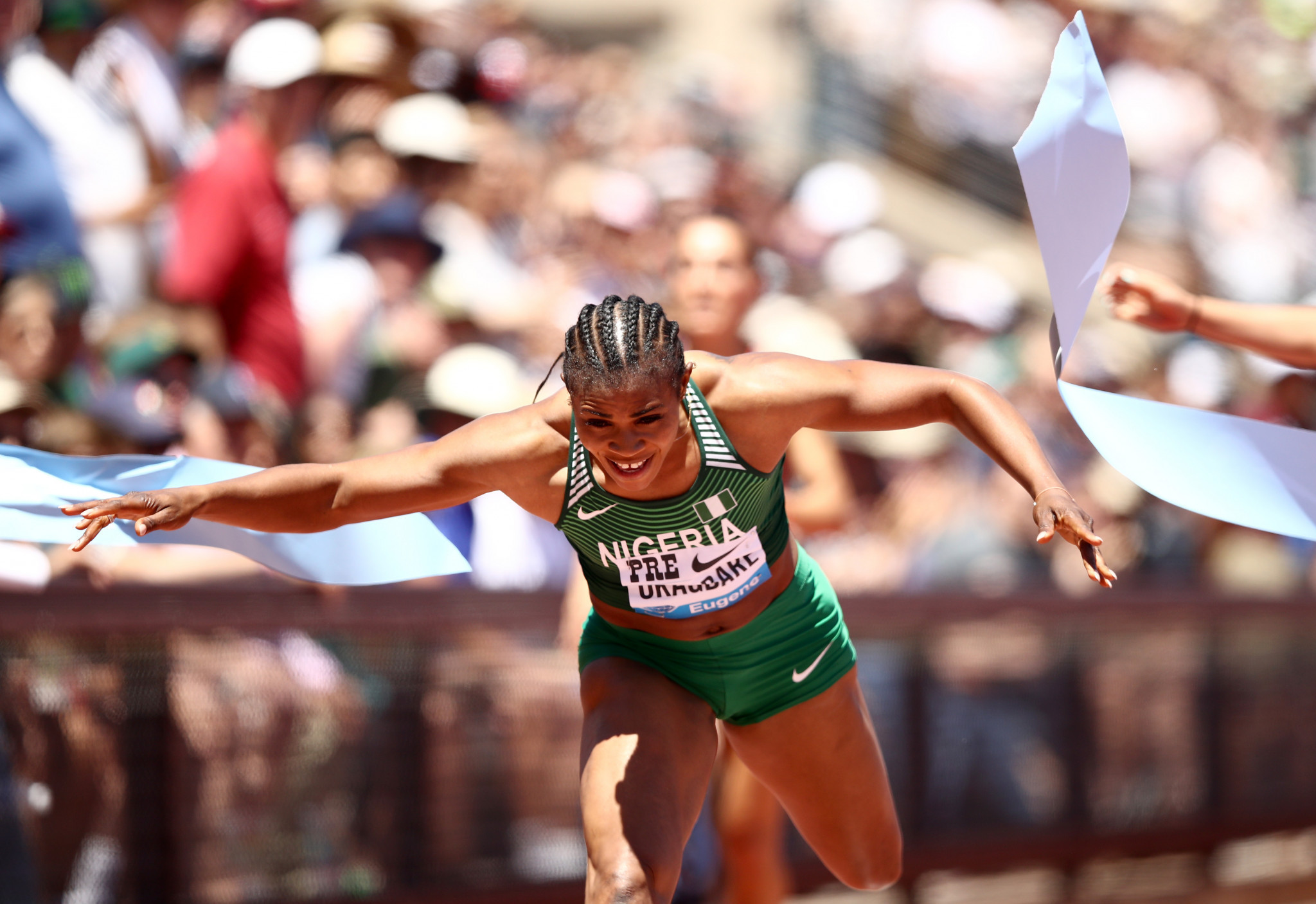 Global Athlete open letter publicly backs Nigerian sprinter Okagbare