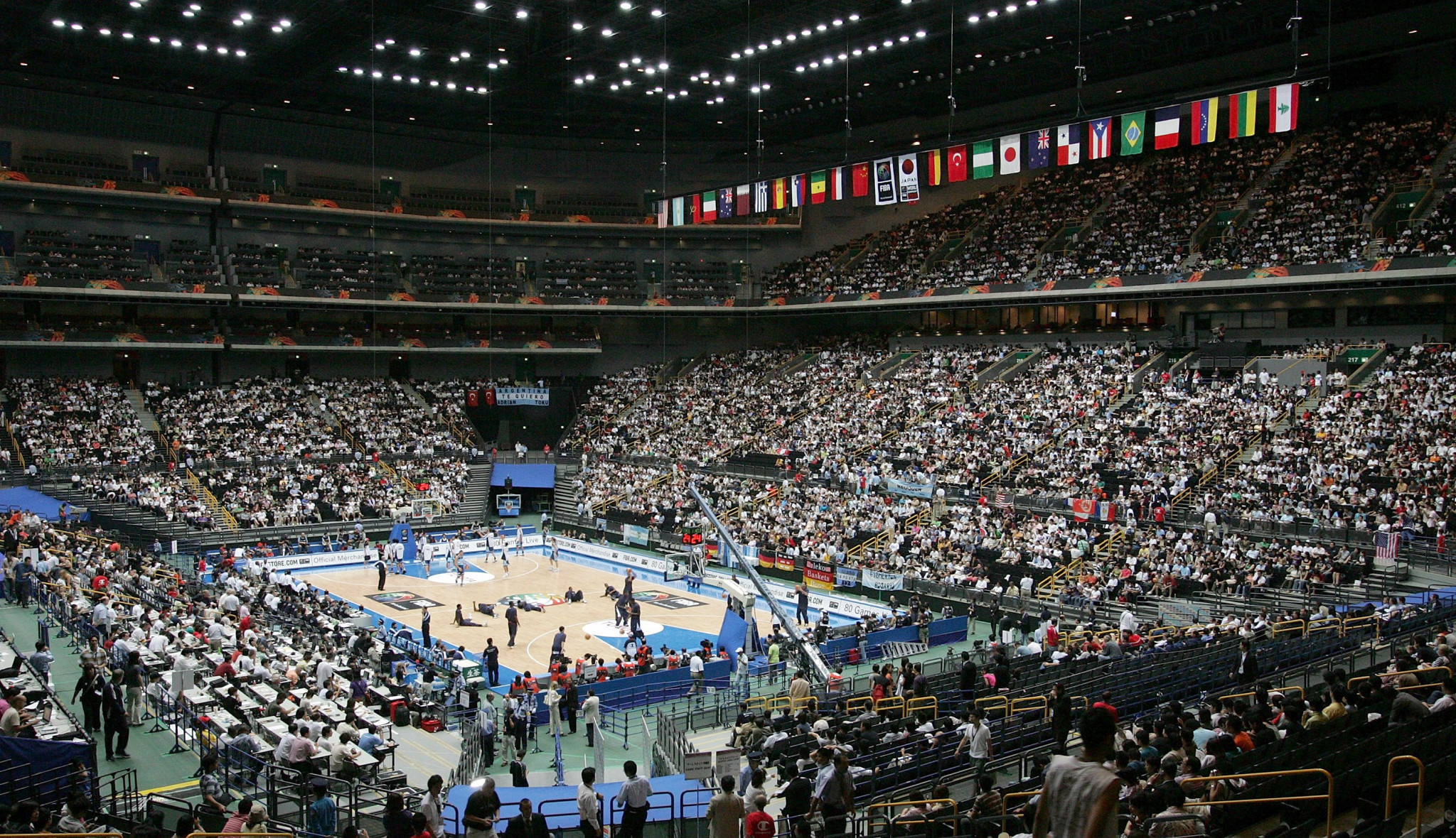 Saitama Super Arena under microscope at Tokyo 2020 basketball test event