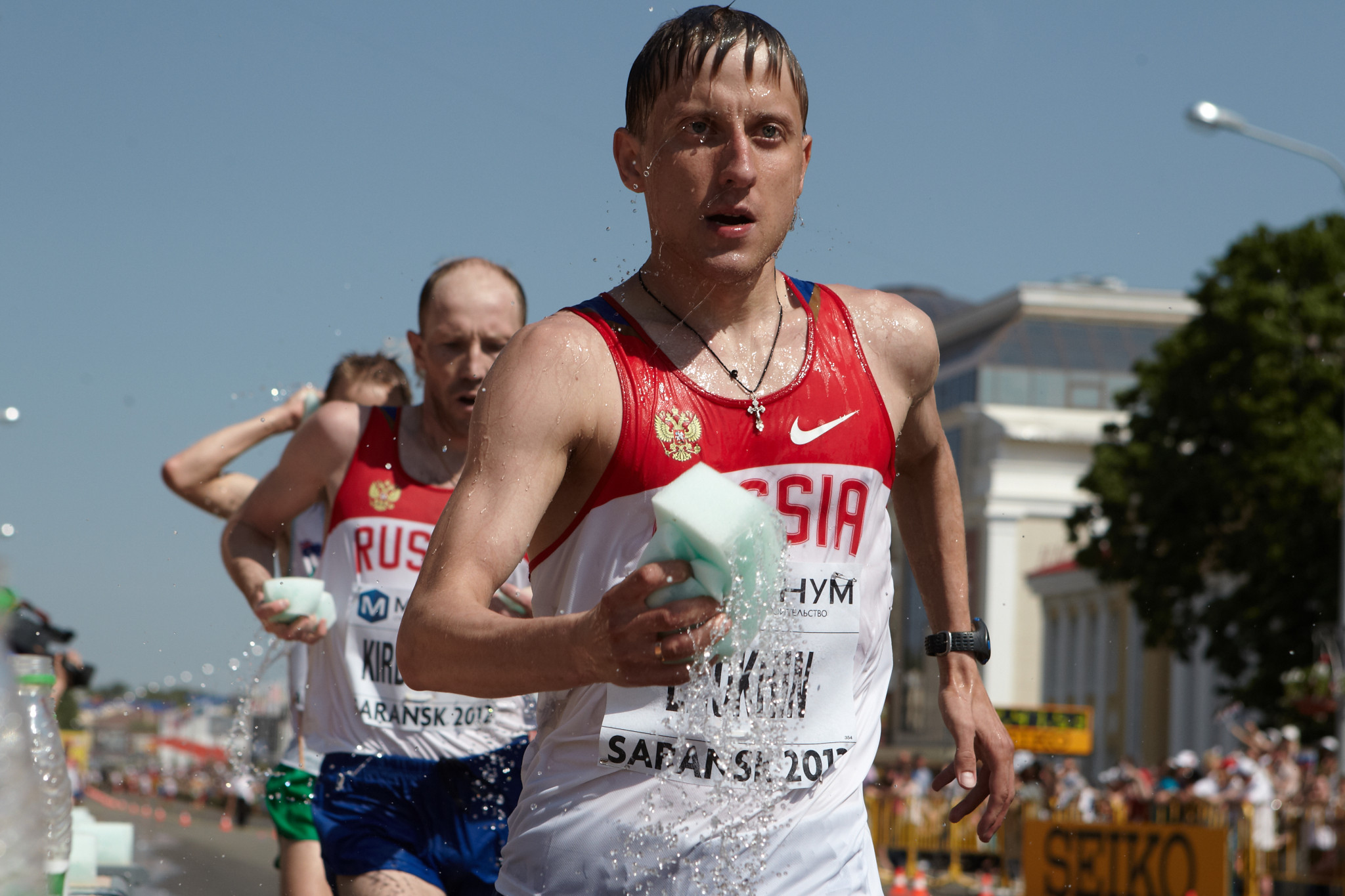 Russian race walker Bakulin handed eight-year doping ban for second offence