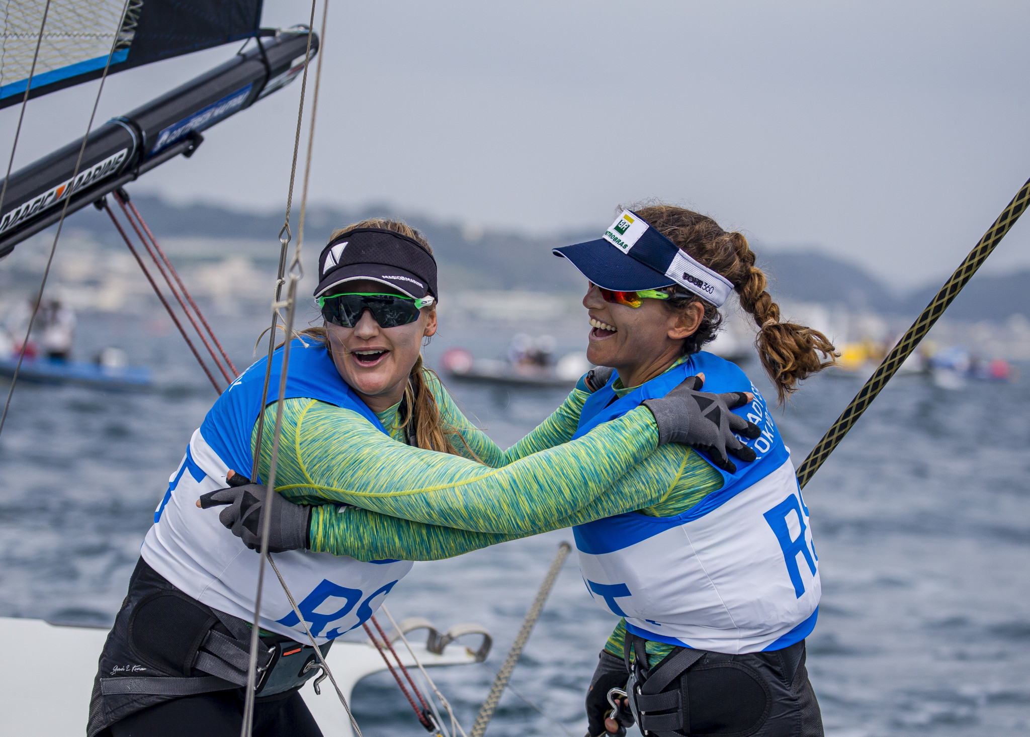 Rio 2016 champions strike gold at Tokyo 2020 sailing test event