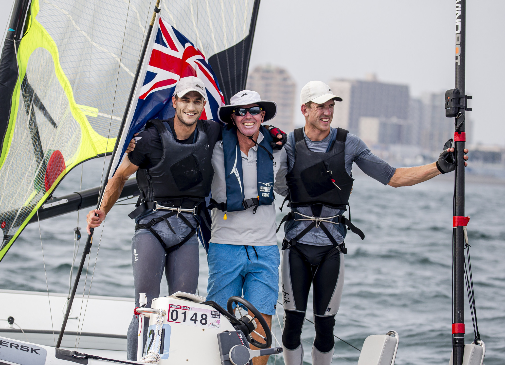 Peter Burling and Blair Tuke clinched victory in the men's 49er ©World Sailing