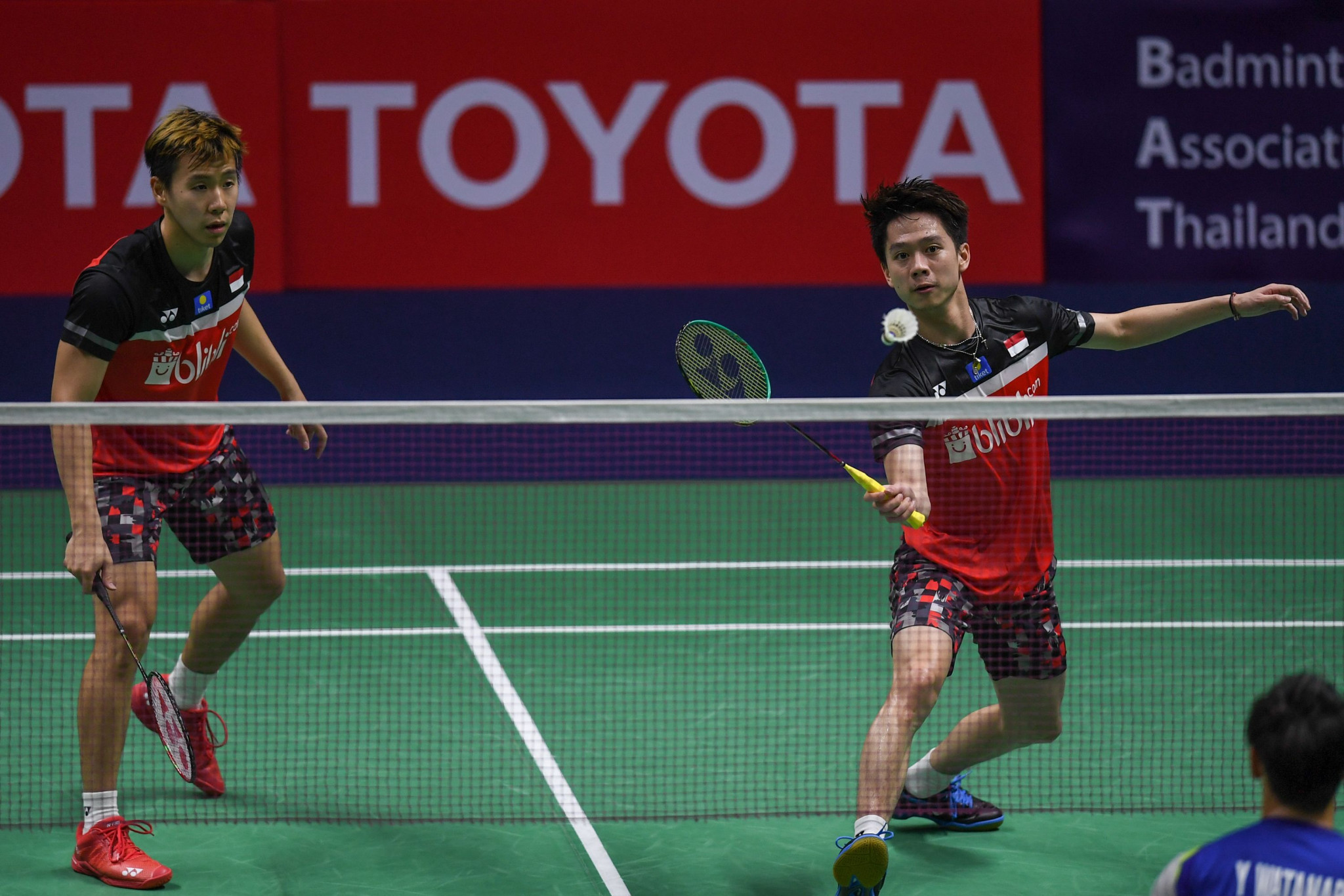 Doubles top seeds Gideon and Sukamuljo suffer shock defeat at BWF World Championships
