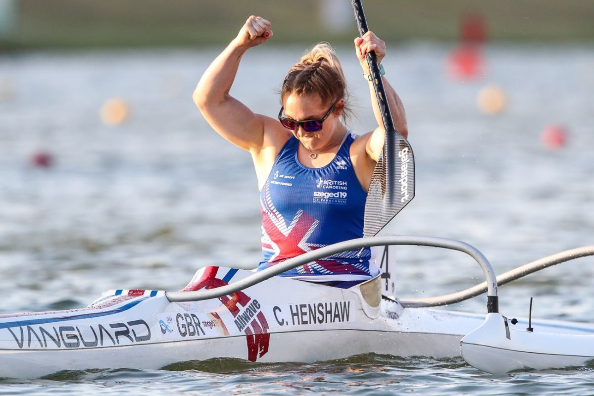 Henshaw clinches VL3 title at ICF Paracanoe World Championships