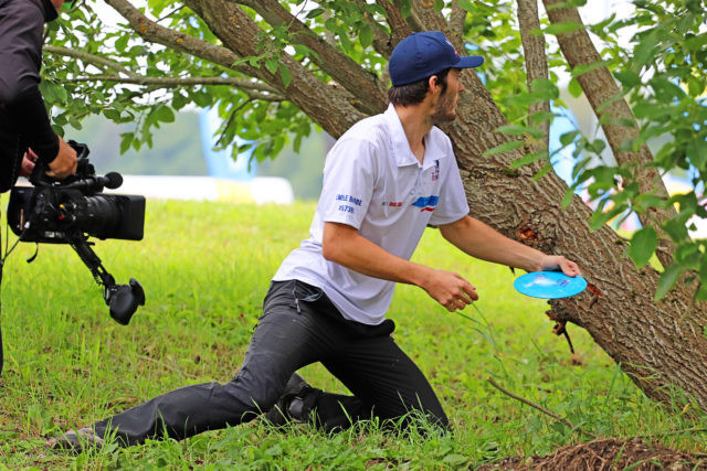 Hosts Estonia top Pool A at World Team Disc Golf Championships