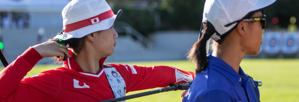 Leonard to face compound top seed Faugstad at World Archery Youth Championships