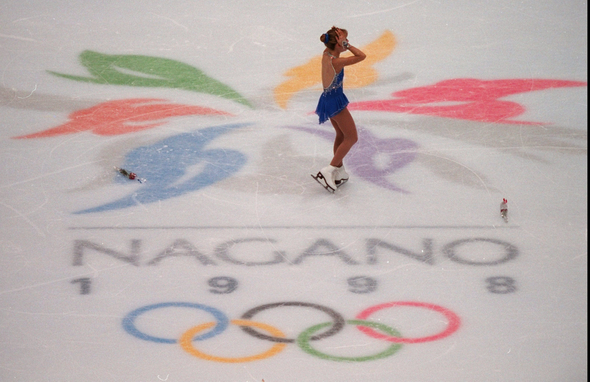 Richard Callaghan coached US athlete Tara Lipinski to Winter Olympics gold in Nagano in 1998 ©Getty Images