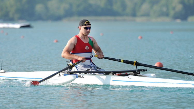 Belarusian Para-rower Dzmitry Ryshkevich has died at the age of 33 ©myrowingphoto.com