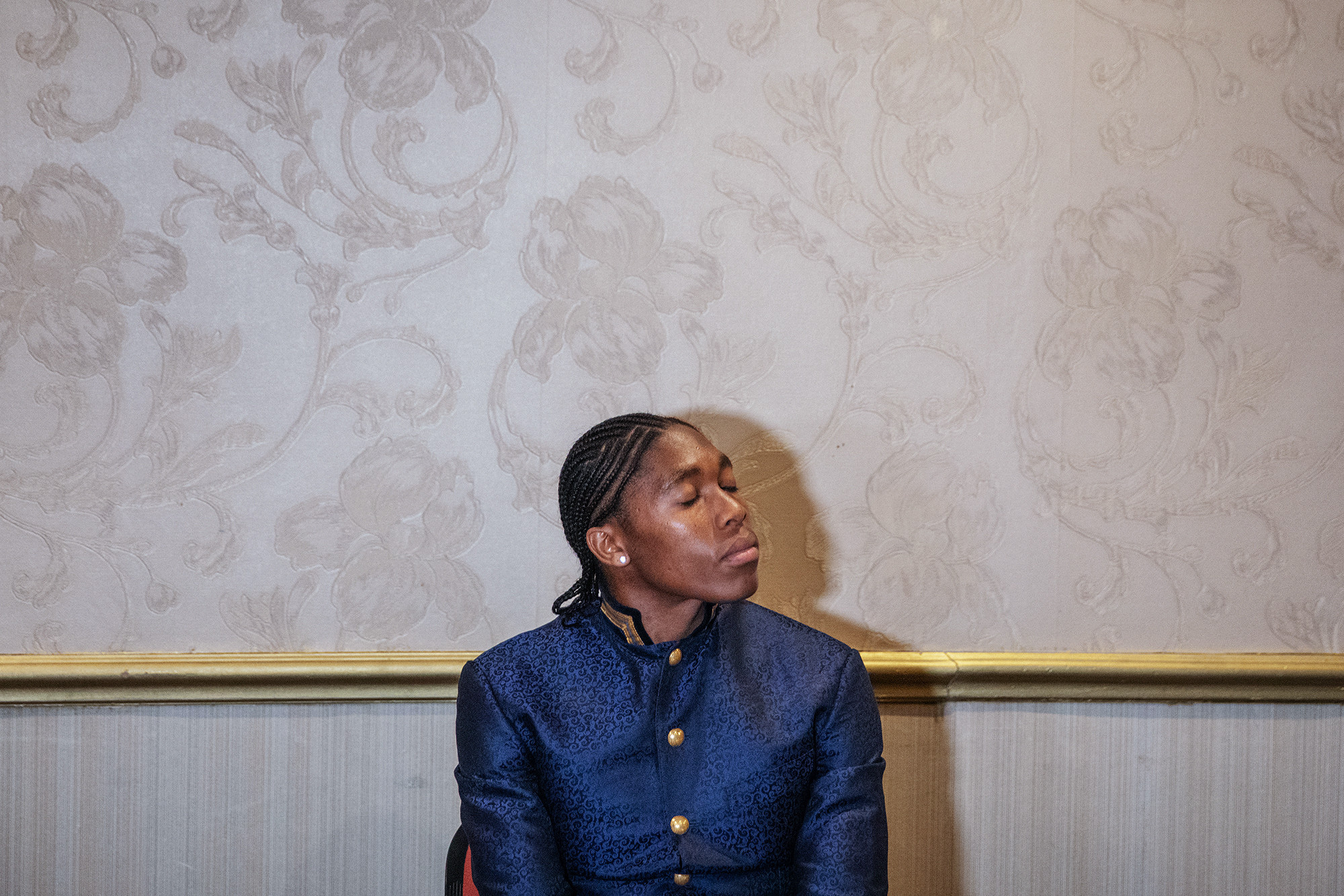 Caster Semenya cannot compete at next month's World Championships in Doha  ©Getty Images