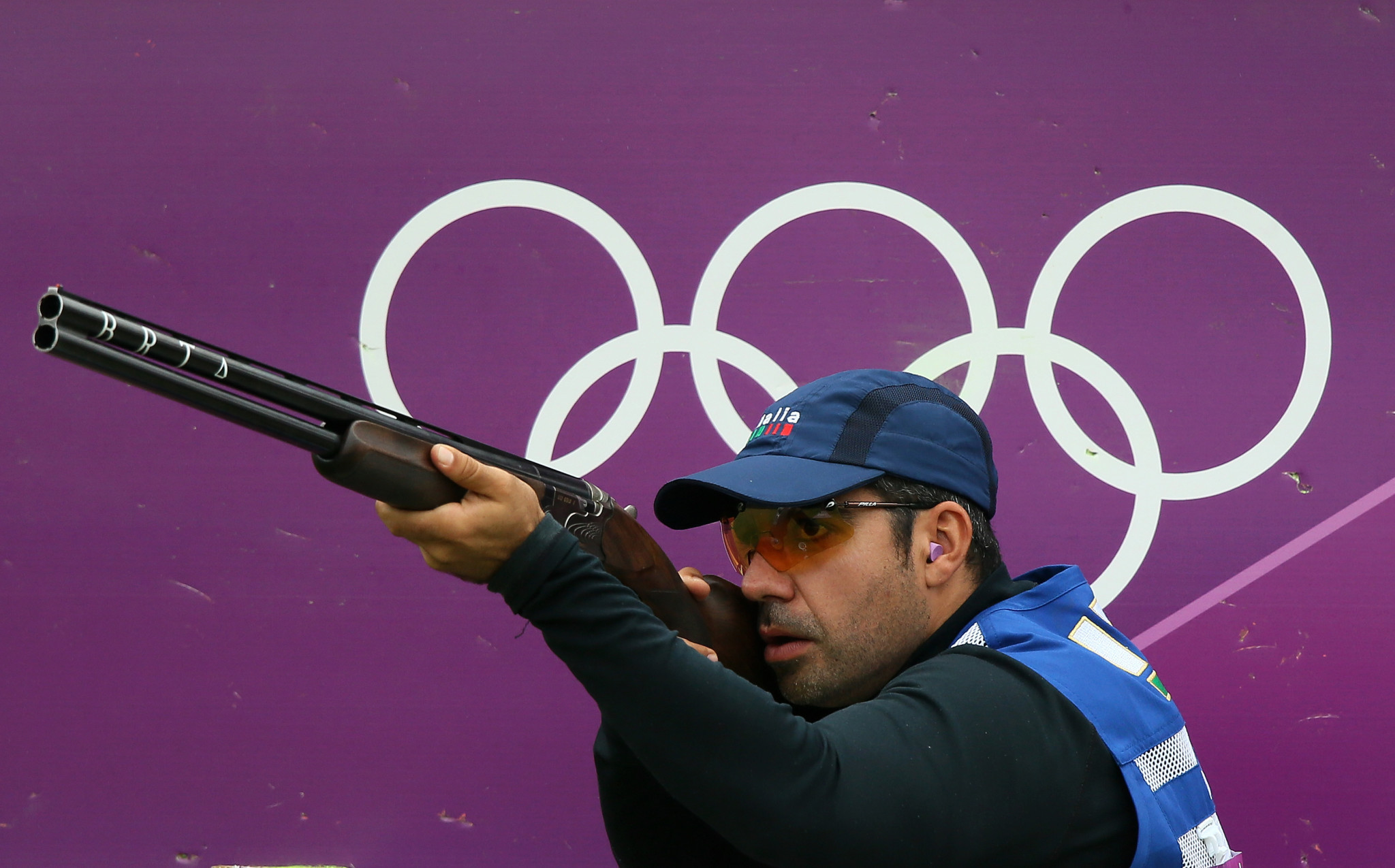 Italy's Lodde claims men's skeet title at ISSF Shotgun World Cup
