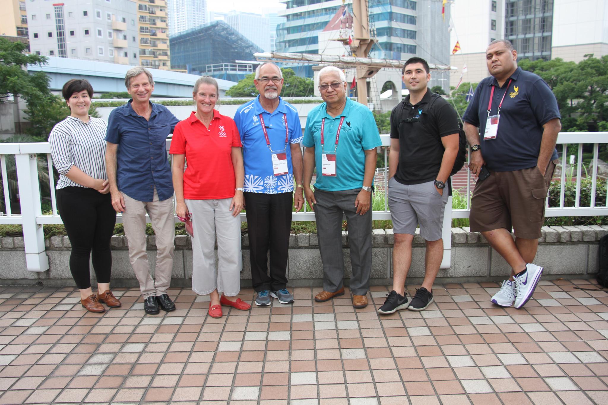 A venue tour was part of the Chef de Mission Seminar ©ONOC