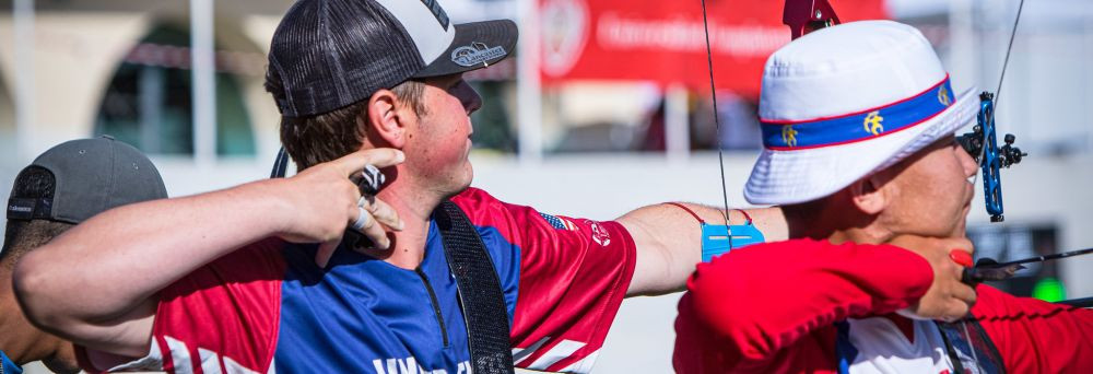 American Williams through to landmark final at World Archery Youth Championships