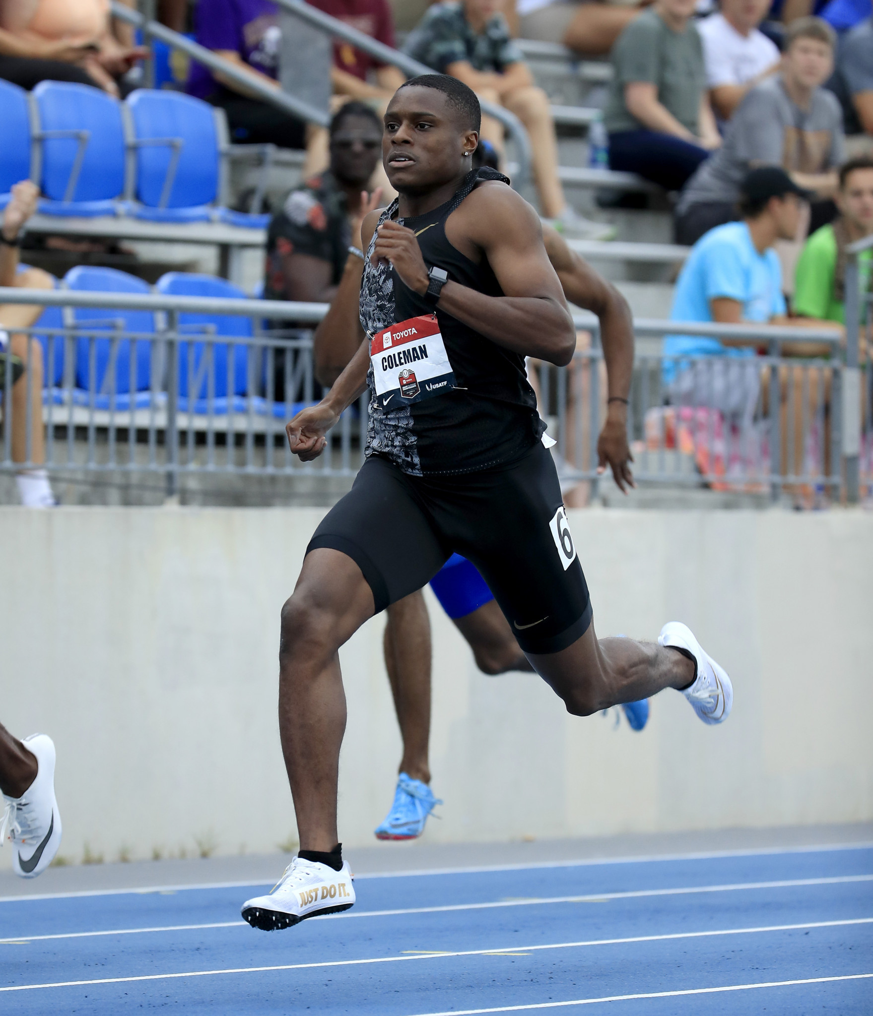 United States sprinter Christian Coleman is reportedly facing a ban from athletics for three whereabouts failures ©Getty Images