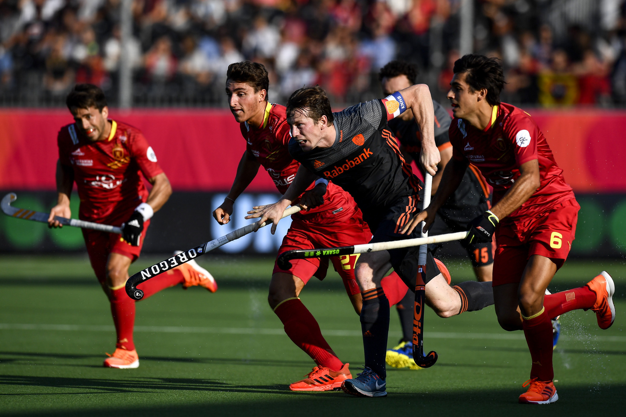 Spain stun The Netherlands to reach first EuroHockey Nations Championship final since 2007