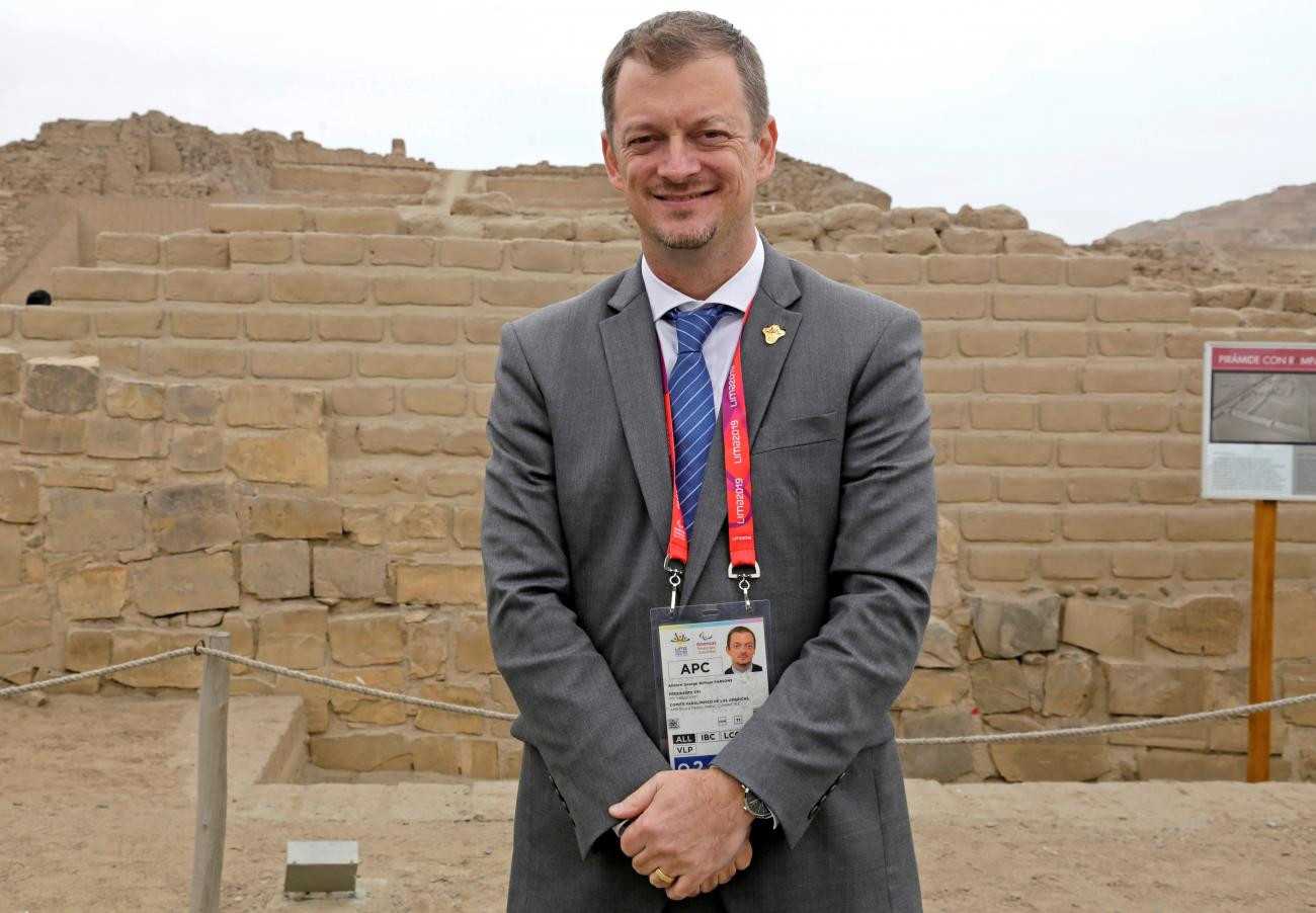 IPC President Andrew Parsons is in Peru for the Parapan American Games ©Lima 2019
