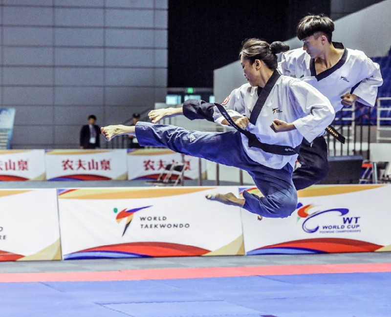 Golden finish for Chinese Taipei as they top medal standings at World Taekwondo Poomsae Championships
