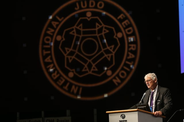 World Championship gold medallist re-elected general secretary of International Judo Federation