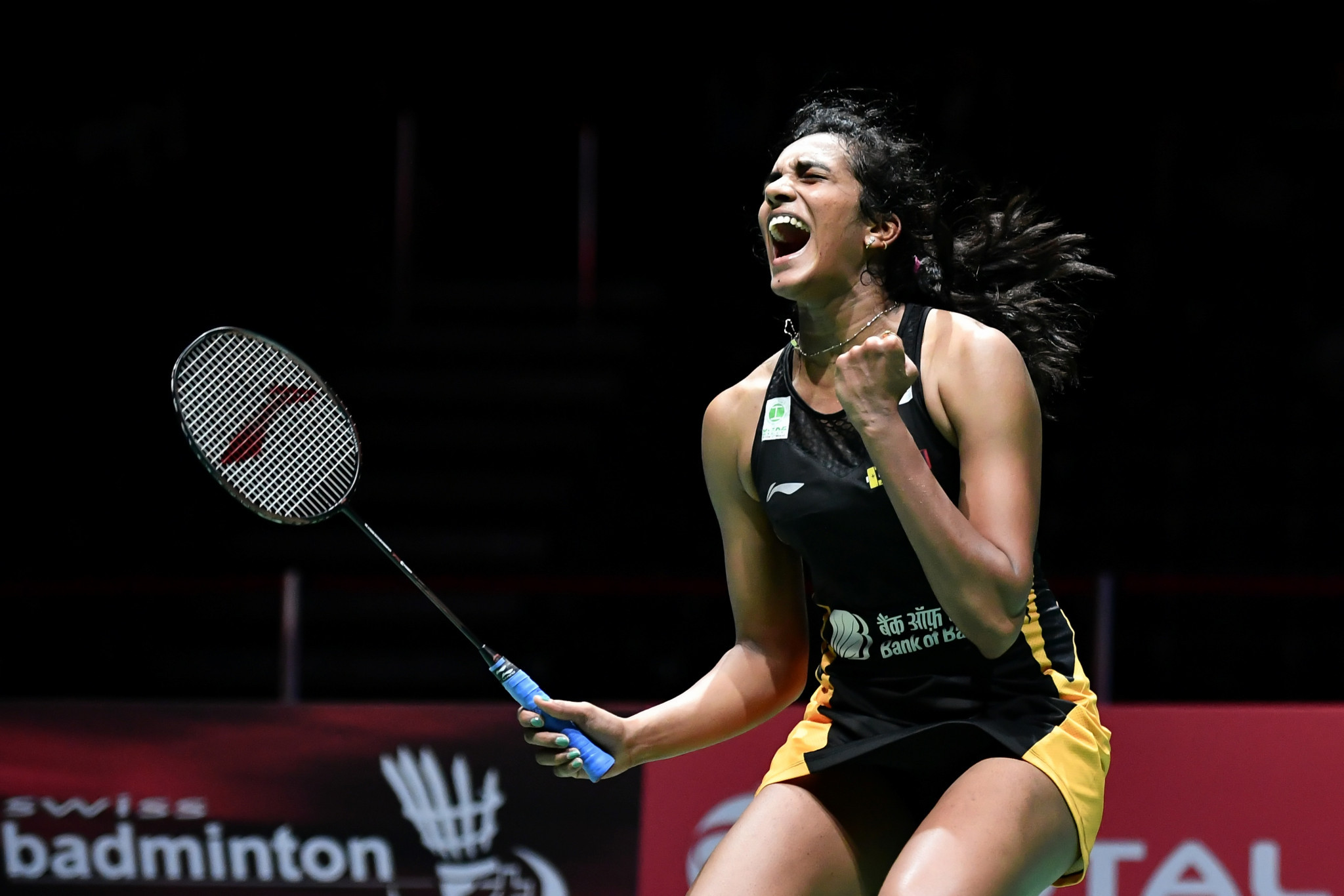 PV Sindhu progressed to the semi-finals after beating Tai Tzu-ying ©Getty Images
