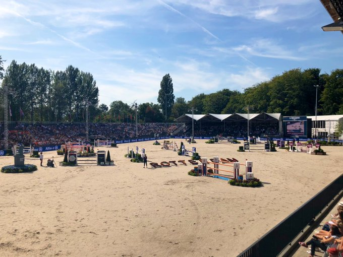 Belgium earn maiden title at FEI European Jumping Championships