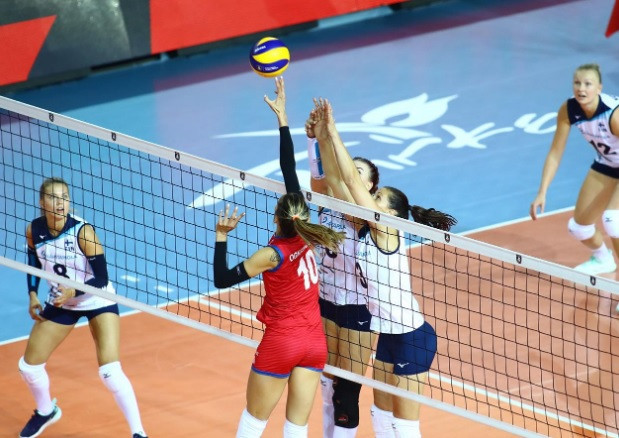 Serbia beat Finland in their opening match in Ankara ©CEV