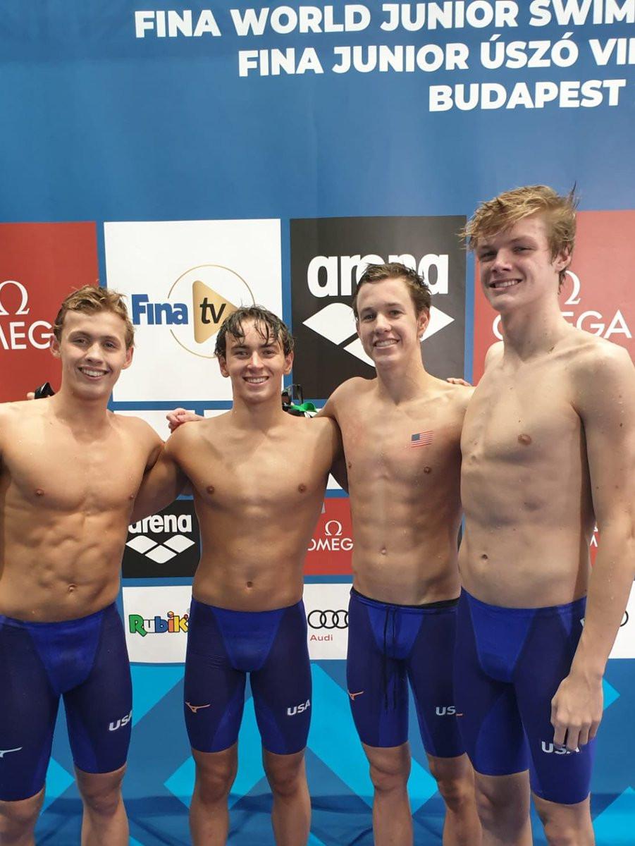 United States impress again at FINA World Junior Championships