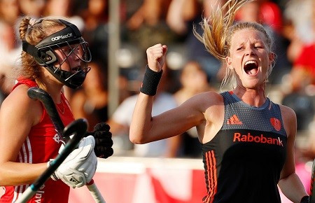Netherlands thrashed England to reach the final ©England Hockey