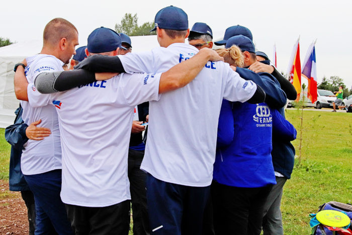 Semi-final line-up decided at WFDF World Team Disc Golf Championships