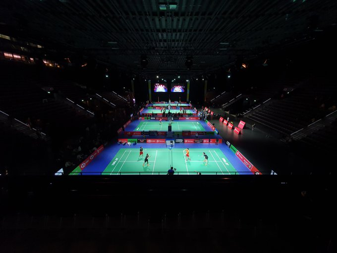 Competition is taking place at the St. Jakobshalle in Basel ©Twitter/basel2019official