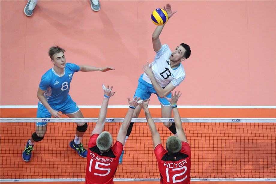 Czech Republic stun Iran at FIVB Boys' Under-19 World Championship