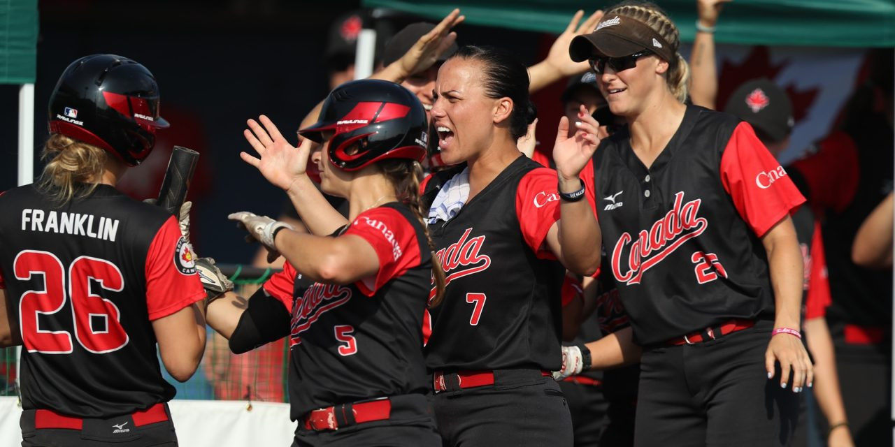 Canada won bronze at the 2018 Women's World Softball Championship ©WBSC