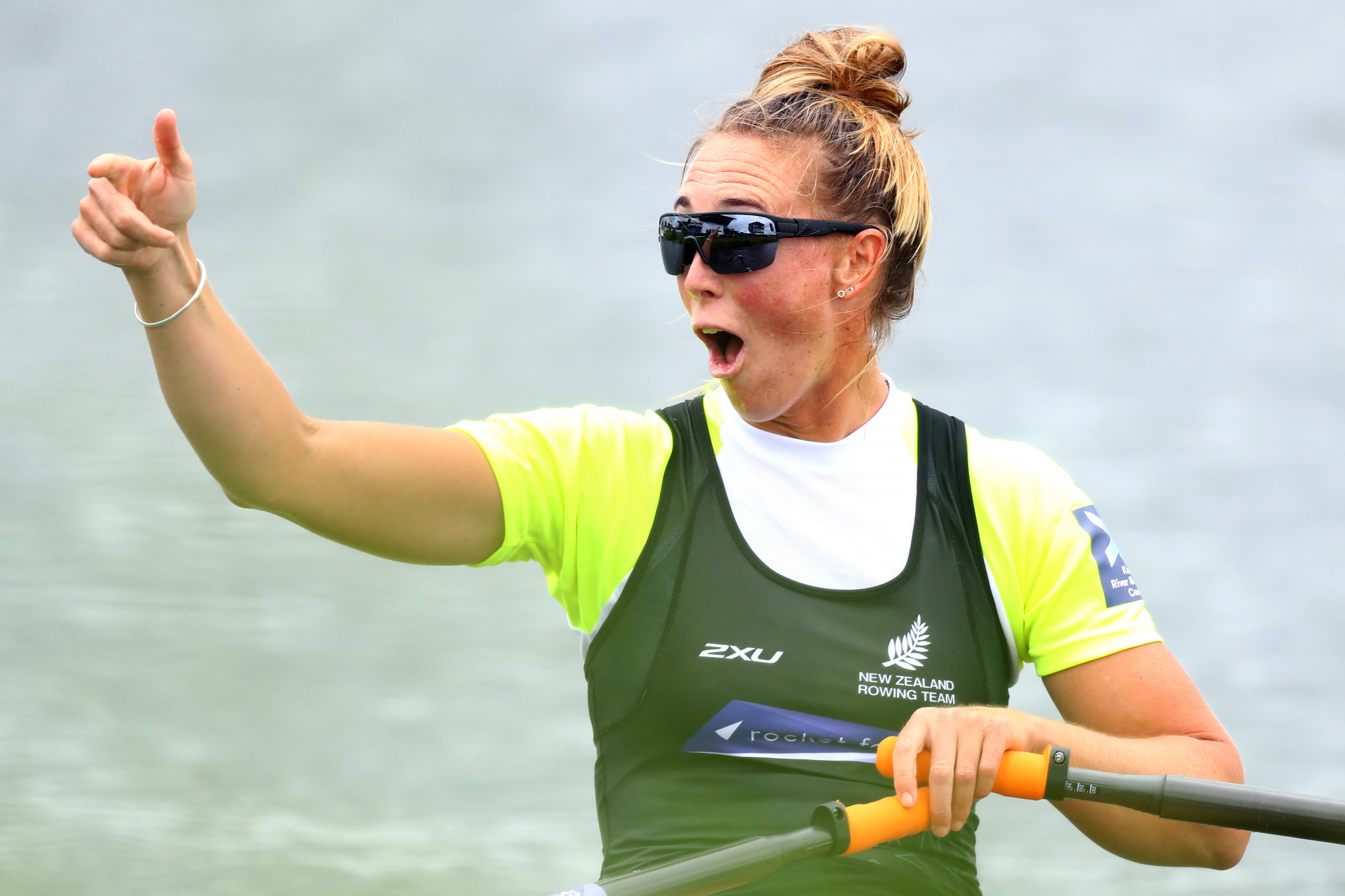 Emma Twigg of New Zealand will make her World Championships return in the women's single sculls ©Getty Images