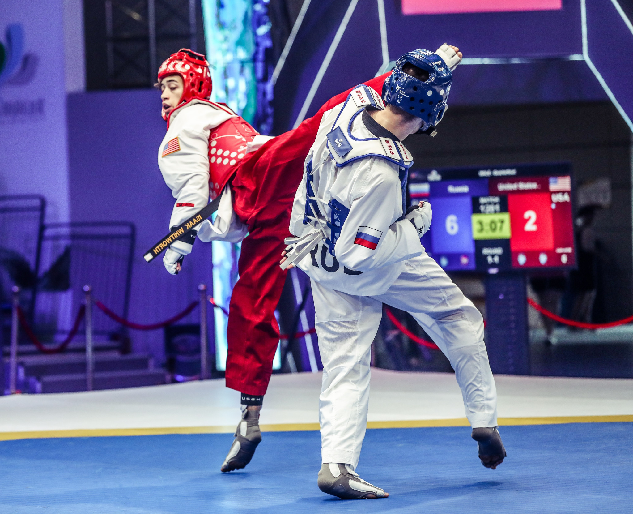 South Korea had to settle for the silver medal in Wuxi ©World Taekwondo